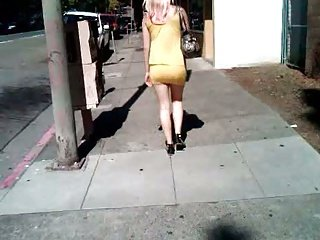 Short Yellow Dress pt1