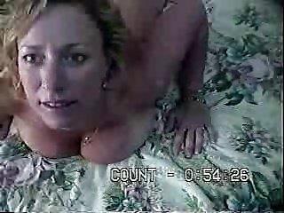 Amateur Couple Fuck on Parents Bed