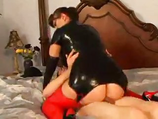 Hot Mature In Sexy Latex