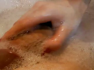 Bathtub Handjob