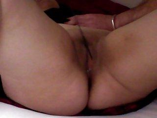 Sub Slut pussy caning