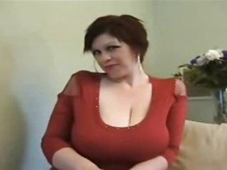 big boobed woman solo masturbation