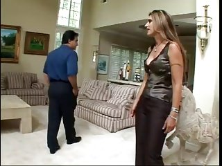 Milf argues with husband and fucks guy in front of him