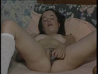British slut Lyta plays with herself in various scenes