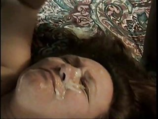 Cum on wife's face part 2