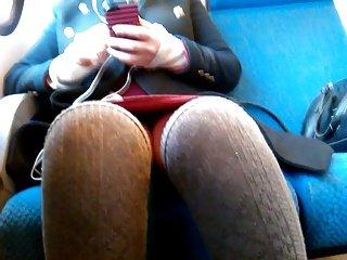 Upskirt...She films me again...