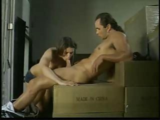 Small Tit Teen gets Her Box Stuffed in a Truck