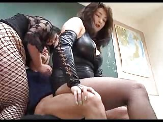 Gangbanged by dominant BBW japanese ladies 1