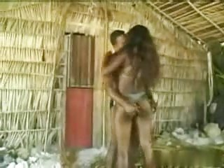 African Couple Hard Fuck In a Shed In Jungle