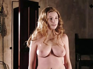Miriam Giovanelli nude in Dracula 3D