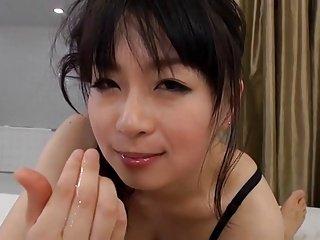 26yr old Hairy Nozomi Hazuki Loves Wet Sex (Uncensored)