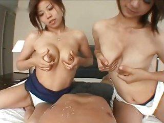 Tachibana Kumi & Sato - Breast milk wife by TOM