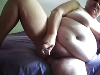 Watch my old fat mom masturbating. Stolen video