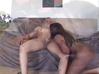 Black Man's Furious Cumming