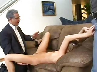 Teen Girl Double Fuck By Two Older Guys