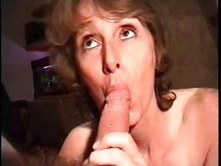 Hot lady loves JD and sperm