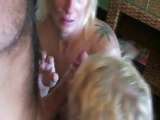 Dutch mature couple & young pussy #1