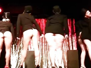 Big Bottoms Burlesque Dance by British Commonwealth Blondes