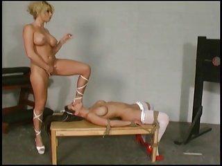 mistress use a lesbian sex slave