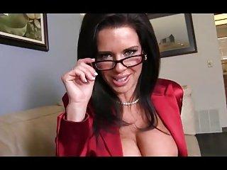 Big tits on teacher. JOI