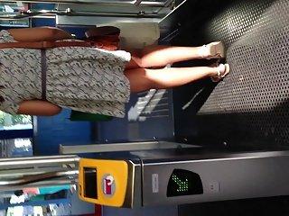 Upskirt Escalator 61 - Big Ass Marroqui Special
