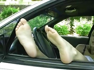Car Window Feet 2