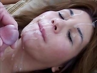 hot big face full of cum