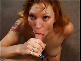 Sonya Reed gives a great POV blow job