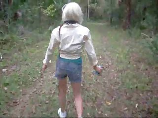 Freaks of Nature 169 Pussy Spanking in the Woods