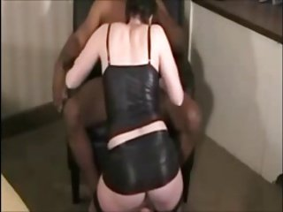 cuckold and his wife with bull Big black dick