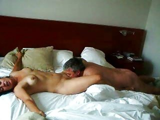 Taking care of his wife at