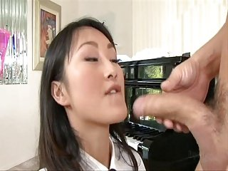 aisan school girl banged