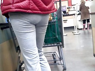 Grocery store leggings