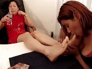 pied de lesbienne