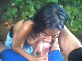 Hot indian girl gets fuck outdoor