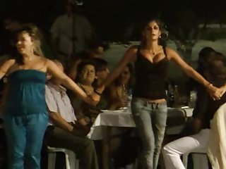 Greek Dancing-Boobs