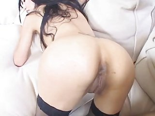 Horny Asian Big black dick Anal