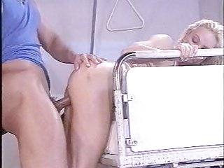 Silvia Saint Hospital Legs Up Sideways