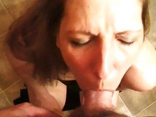 Hot lady Blonde Blow job YPP