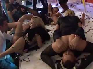 Awesome fuck at a party New Year