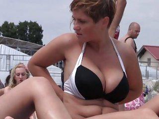 Take off bikini top 7