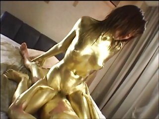 Gold Paint Dust 1