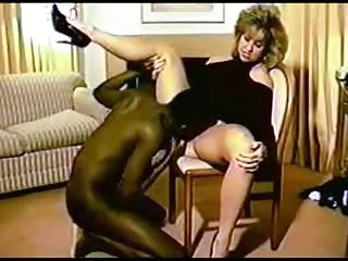 Wife fucks black bull at home