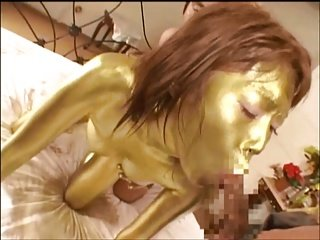 Gold Paint Dust 6