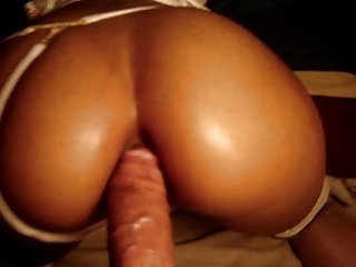 Exotic Slut: POV anal doggystyle with cumshot...