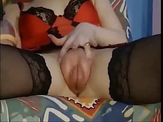 Spooky GF fetish pumping bizarre rough huge tits compilation