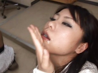 Japanese woman swallows 2