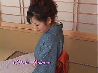 Japanese wife Chiaki Nakano does her duty