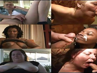 Point of View with three Women (Granny, Ebony Hot lady & BBW)