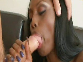 Black Chick, White Dick Interracial - F3Z4